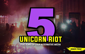 Unicorn Riot Five Years of Alternative Media - Donate today
